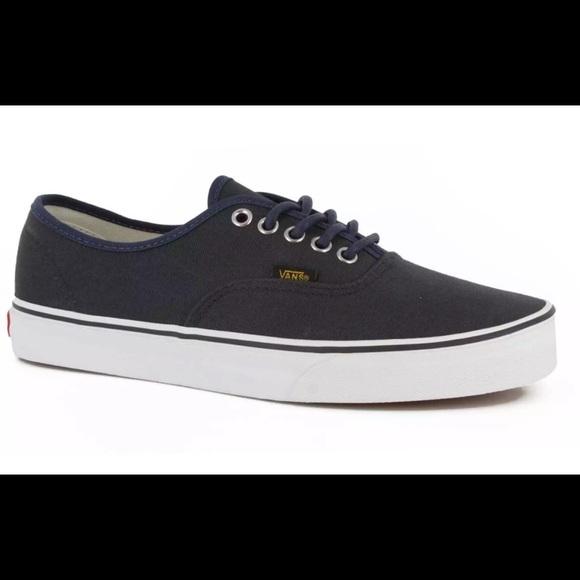 9b49bda383 Vans Dress Blues Blue Men s Skate Shoes Size 9.5